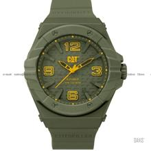 Caterpillar CAT Watches LE.111.28.838 SPIRIT II Silicon Military Green