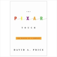 The Pixar Touch Steve Jobs Hardcover Book