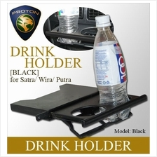WIRA/SATRIA/GTI/PUTRA Black Color Drink Holder Easy Installation