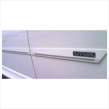 Perodua Viva Door Side Moulding with chrome lining(OEM)