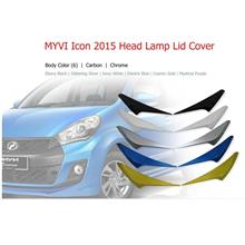 Perodua Myvi Icon 2015-2017 Head Lamp Lid Cover