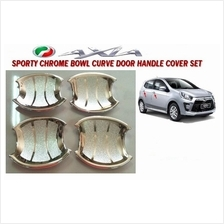 Perodua Axia Chrome Outer Door Handle Cover