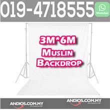 3M*6M Photo Studio Video Muslin Photography Backdrop Backgroud Cloth W