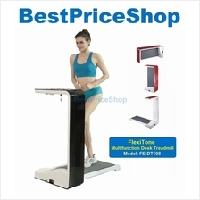 Multifunction FlexiTone Foldable Desk Treadmill Slimming Gym Running