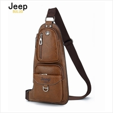 Jeep Buluo Fashion Travel Crossbody Bag Shoulder Bag Jeep Leather Bag