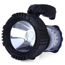 ZUKE ZK2133A 2 IN 1 RECHARGEABLE 5W LED SPOTLIGHT WITH ROTATING HANDLE