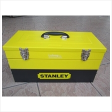 Stanley 5 Tray Cantilever Box + 80pcs Accessories + Foam Cut