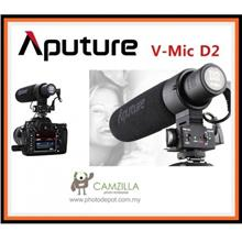 Aputure V-Mic D2 Sensitivity Adjustable Directional Condenser Micropho
