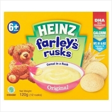 Heinz: Farley's Rusks Original 120g (From 6+ Months)