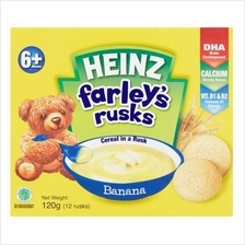 Heinz: Farley's Rusks Banana 120g (4 - 6 Months Onwards)