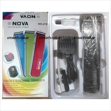 Black / White Nova Professional Smart Rechargeable Cordless Trimmer