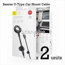 2 Units Baseus O Type Shape Car Mount Holder Cable Clip 3 in 1
