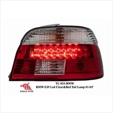 BMW E39 4D  01-03 EAGLE EYES RED CLEAR LED Tail Lamp [TL-024-BMW]