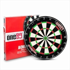 ONE80 DURABLE ROUND WIRE BRISTLE DARTBOARD - ACHIEVER