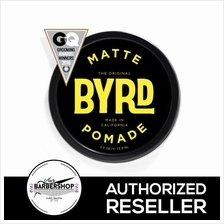 BYRD Matte Pomade Water Soluble Medium Hold Low Sheen (3 OZ)