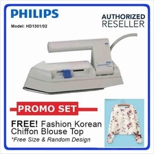 Philips Fold Flat Dry Light Travel Iron 250W Non-stick Soleplate
