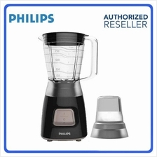 Philips HR2056 Blender (350W) 1.25L Plastic Jar With Mill (Black)
