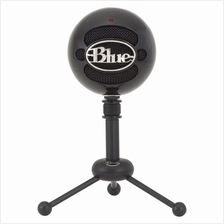 Blue Snowball USB Condenser Microphone CD-Quality Audio With USB Cable