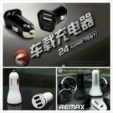 Original Remax 2.1A 3.4A 6.3A Car Fast Turbo Charger Adapter Socket