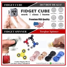 2017 New Hot Fidget Cube Magic ▶ Torqbar Hand Spinner ▶ An..
