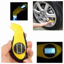 LCD Digital Car Motorcycle Tire Tyre Air Pressure Gauge with Light