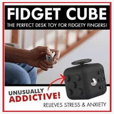 New Arrival Fidget Cube Stress Reliever Magic Cube 2017 HOT