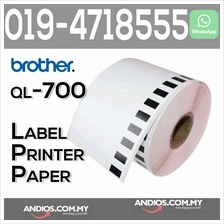 Brother Compatible Barcode Label Paper Tape 62mm QL550/570/700 Printer