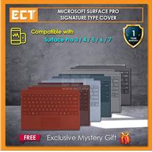 Microsoft Surface Pro Signature Type Cover (Plantinum / Cobalt Blue /