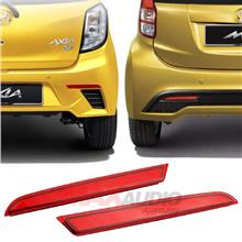 PERODUA AXIA Advance/SE Red Lens Rear Bumper Safety LED Light Bar