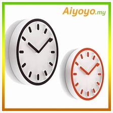 3D Modern Wall Clock Round Fashion Creative Decoration Office Home Sit