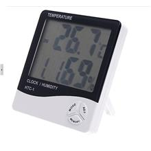 Digital LCD Temperature & Humidity Tester Hygrometer with Alarm Clock