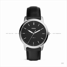 FOSSIL FS5398 Men's The Minimalist 3-hand Leather Strap Black