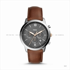 FOSSIL FS5408 Men's Neutra Chronograph Leather Strap Brown