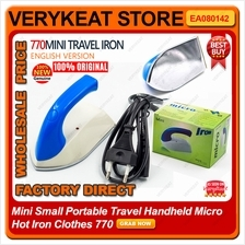 Mini Small Portable Travel Handheld Micro Hot Iron Clothes 770
