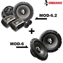 "MOHAWK MOD-6.2 6.5"" 2-Way Component + MOD-6 6.5"" Mid Bass Speaker Set"