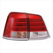 EAGLE EYES TOYOTA LAND-CRUISER '08 RED/CLEAR LED Tail Lamp [TL-155]