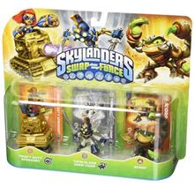 Skylanders SWAP Force Triple Character Pack: Scorp, Twin Blade Chop Ch