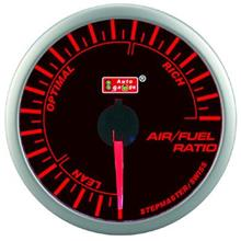 AUTOGAUGE 60mm Super Amber and White Air / Fuel Ratio Meter  [300]