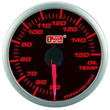 AUTOGAUGE 60mm Super Amber and White Oil Temp Meter [303]