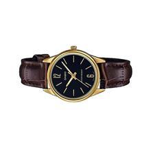 Casio Ladies Analog Leather Watch LTP-V005GL-1BUDF