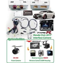 HONDA CIVIC FK8 TYPE-R 2016 Plug and Play Front n Rear View Camera Kit