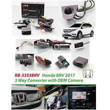 HONDA BRV 2015 - 2018 REDBAT OEM Plug and Play Front View Camera Kit