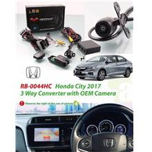 HONDA CITY GM6 Facelift 2017-18 Plug and Play Front View Camera Kit