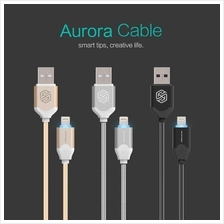 Nillkin Aurora Lightning Cable 2.1A Apple iPhone LED light indicator
