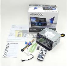 KENWOOD DDX7018BT 7' DVD Waze Nav-App Weblink Bluetooth Double DIN