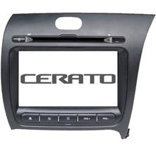 KIA CERATO K3 2013-17 DLAA 8' Full HD Double Din GPS DVD USB TV Player