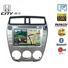 HONDA CITY 2009-13 8' Full HD Double Din GPS DVD MP3 USB SD TV Player
