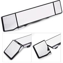 CARMATE 42.5cm Global Wide Angle Dual Adjustable Rear View Mirror