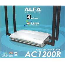 Alfa AC1200R  AC ,Giga-Fast  Compatible for  Unifi  Time