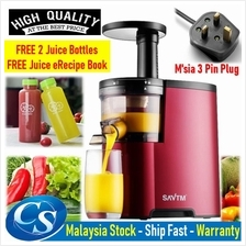 SAVTM JE-07 Slow Juicer Fresh Fruit Juice Extraction Blender Maker
